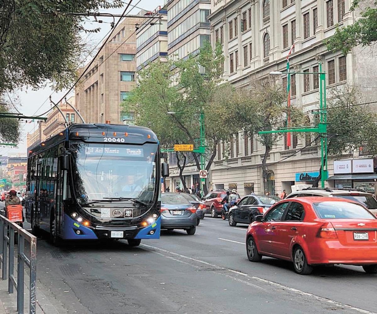 Trolebuses chinos