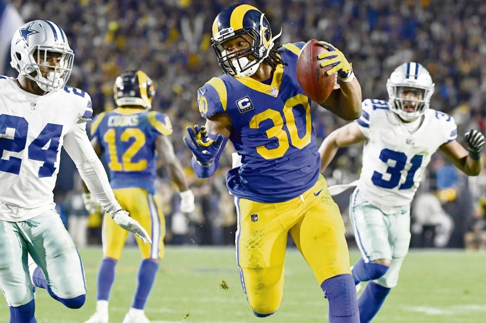 Los Rams no creen en embrujos