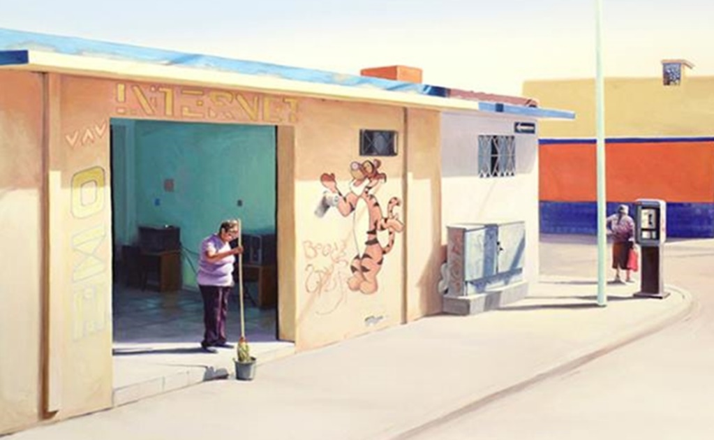 South Korean artist portrays the beauty of daily life in northern Mexico from afar