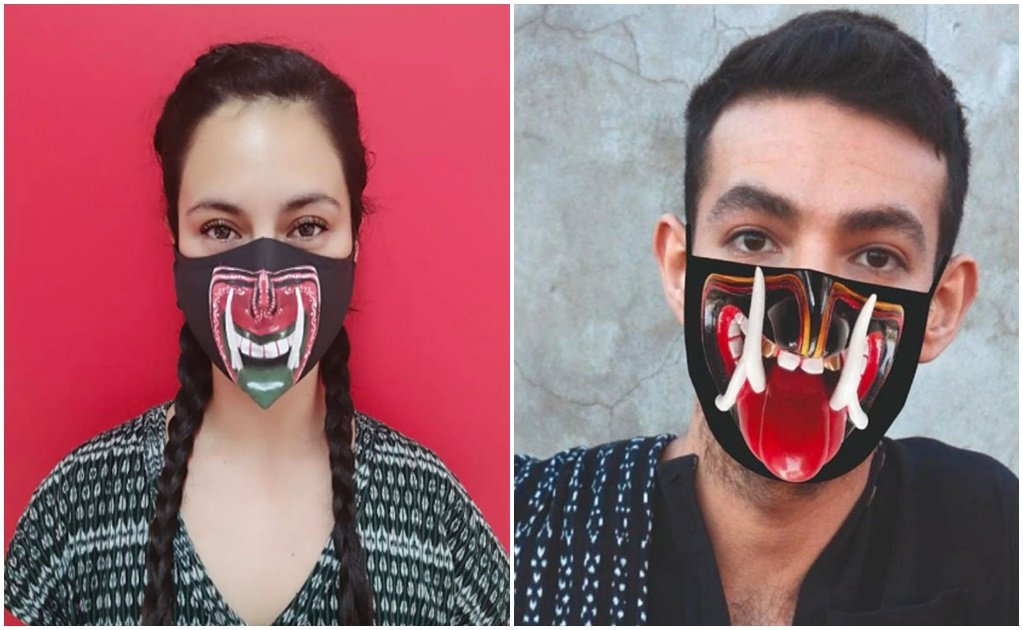 Mexican designer collaborates with artisans to create ecological masks