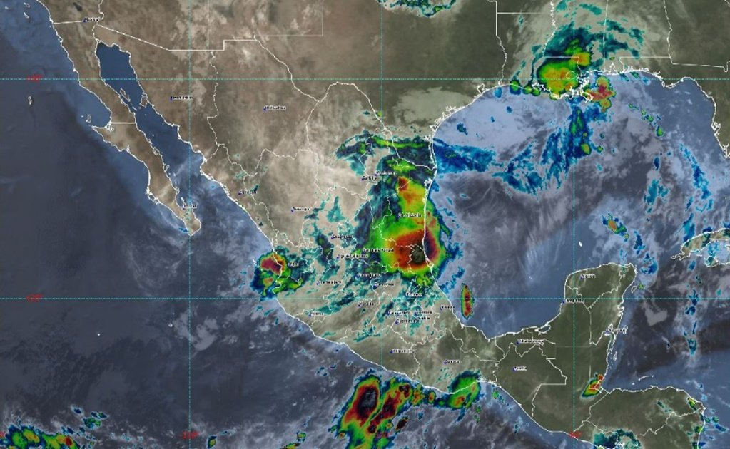Tropical depression Hanna hits northern Mexico with heavy rains and flash floods