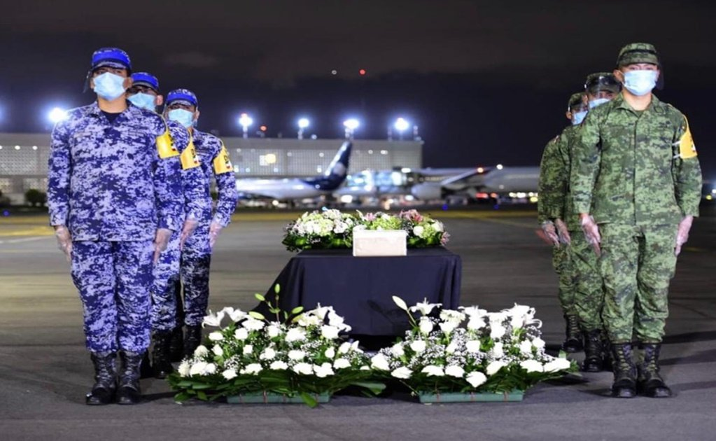Ashes of Mexican COVID-19 victims are repatriated from the U.S.