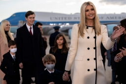 Ivanka llora y Melania se despide de Washington con YMCA