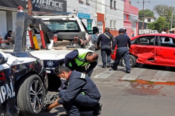 Patrullas choconas; en tres meses 30 accidentes
