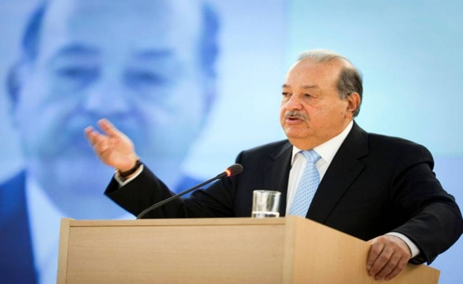 Mexican tycoon Slim says he will not give away shares to charity