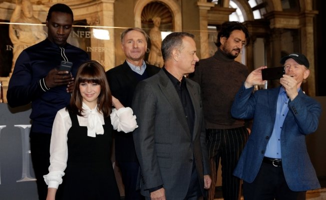 "Dan Brown y Tom Hanks presentan ""Inferno"""
