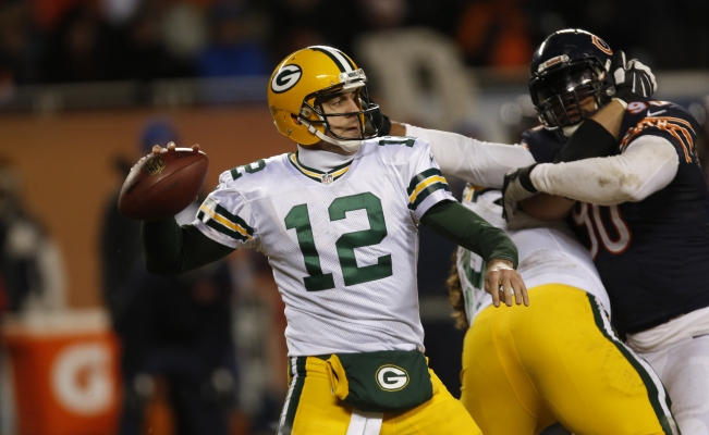 Green Bay le pegó a Chicago