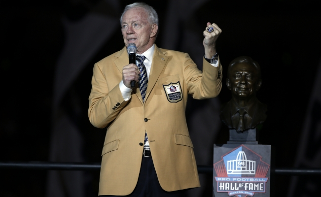 Jerry Jones recibe negativa sobre el contrato de Goodell
