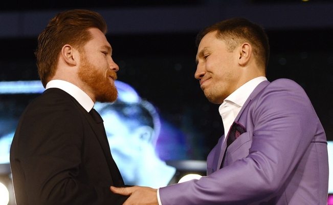 Sigue en pie pelea 'Canelo' vs Golovkin