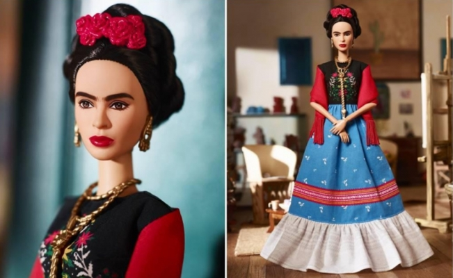 Frida Kahlo Barbie doll is here!