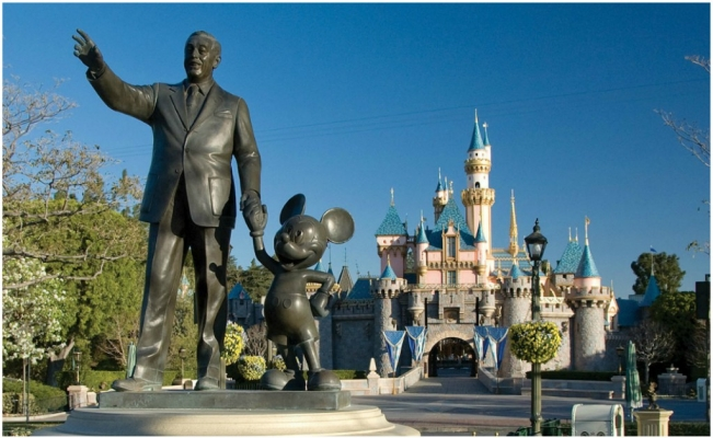 Google Maps parques de Disney
