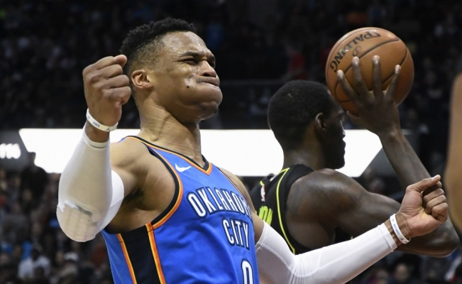 Russell Westbrook llega a 100 Triples-Dobles