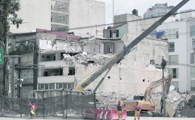 Rebuilding with indifference