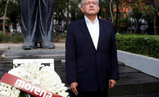Mexico leftist says he would try to halt energy auctions if president-elect