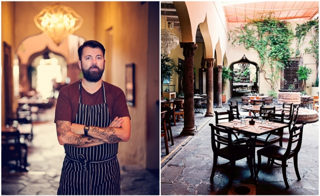 chef Donnie Masterton_ The Restaurante en San Miguel de Allende