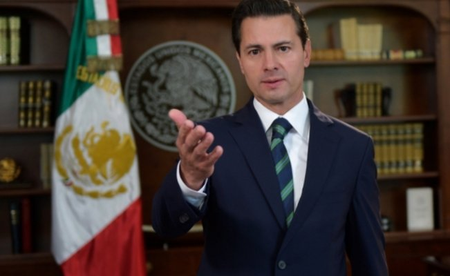 In a message broadcasted in Mexico media, President Enrique Peña Nieto underlined Mexico's sovereignty and willingness to face common challenges in the Mexico-U.S. bilateral relation