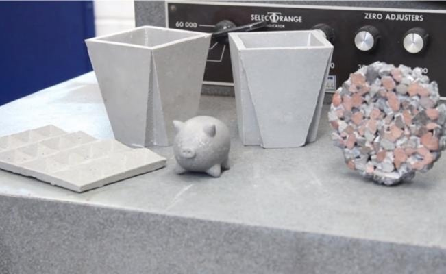 UNAM students design purifying concrete