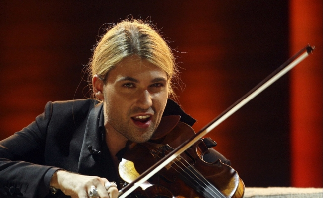 David Garrett returns to Mexico City with a new album