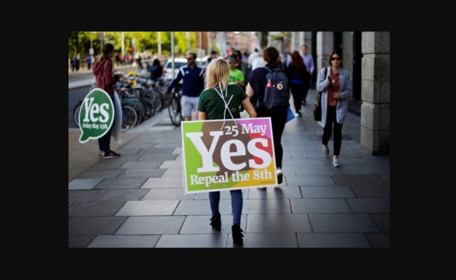 "Ireland says ""yes"" to abortion"