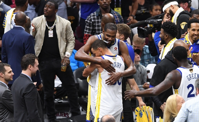 Los Warriors de Golden State se coronan en la NBA