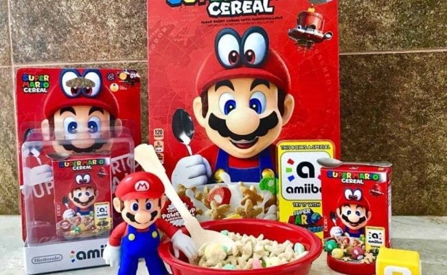 El Super Mario Cereal ya disponible en México