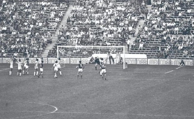 Miserable futbol, en México 1968