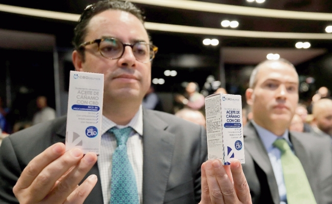 Mexico approves 38 products derived from marijuana