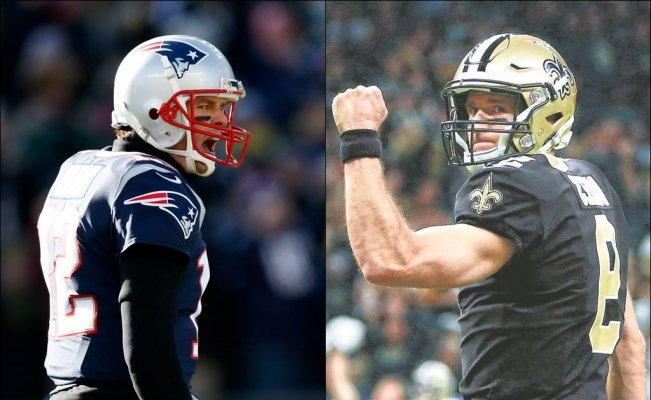 Tom Brady vs Drew Brees, una rivalidad desde la universidad