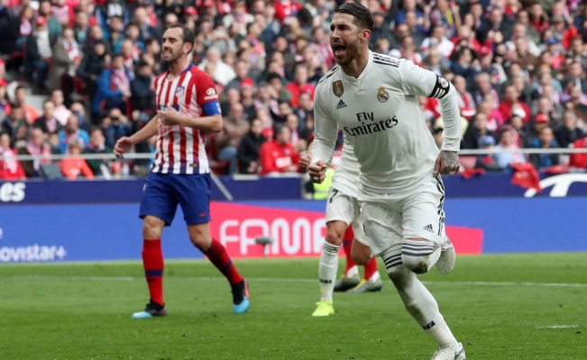 Real Madrid se impone al Atlético de Madrid en el derbi