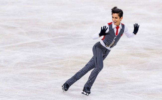 "Donovan Carrillo, primer patinador mexicano en lograr un ""triple axel"""
