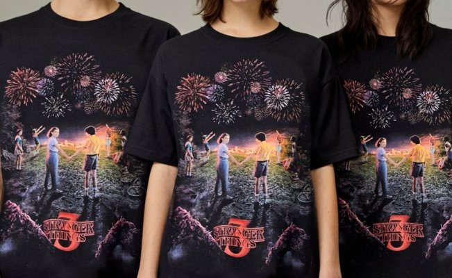 Netflix y Pull & Bear venderán limitada playera de Stranger Things