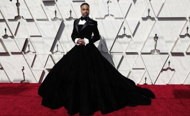 Billy Porter, el actor que llevó una extravagante falda con smoking