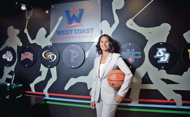 Meet the first Latin American woman to lead West Coast Conference