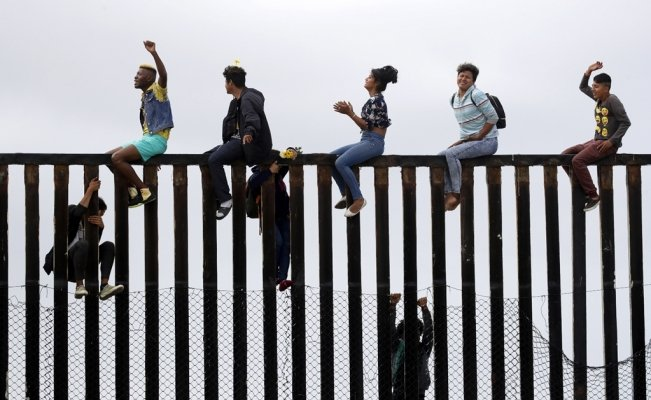 Over 76,000 migrants tried crossing the Mexico-U.S. border in February