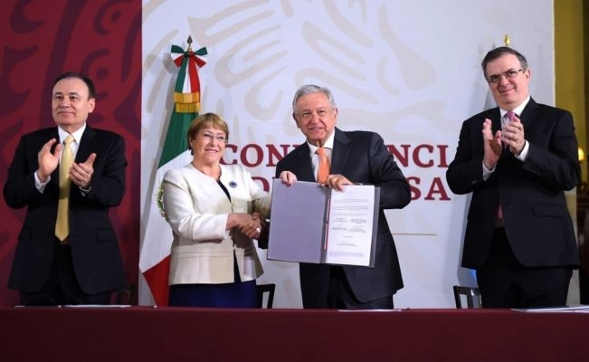 UN signs agreement to oversee Mexico's National Guard