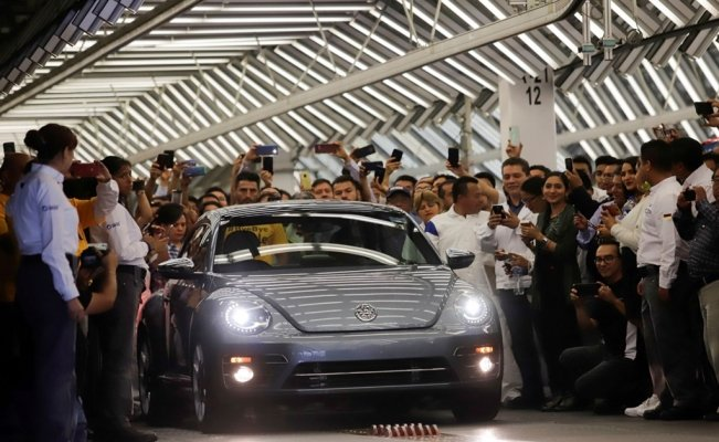 Farewell, VW Beetle, last unit assembled in Puebla