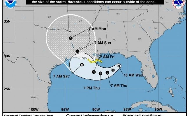 "Tormenta tropical ""Barry"""