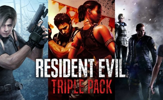 Anuncian Resident Evil Triple Pack para Switch