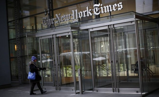 Oficinas de The New York Times