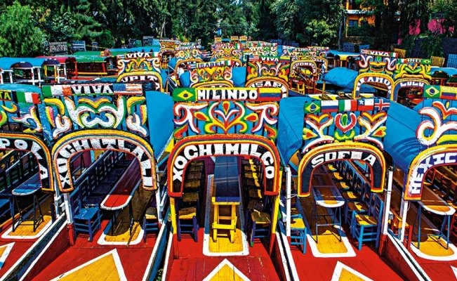 Discover Xochimilco with an app