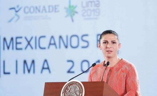 Ana Guevara was granted a tax pardon by the Peña Nieto administration