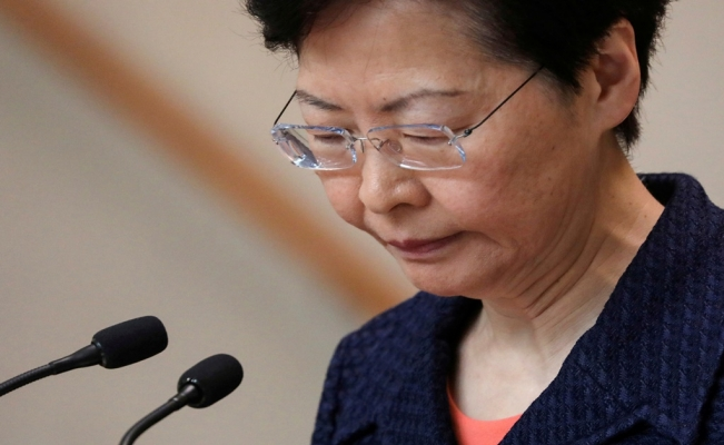 Hong Kong leader Carrie Lam formally withdraws controversial extradition bill