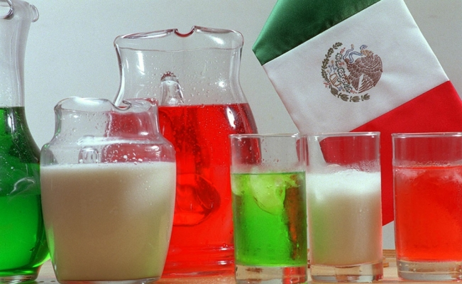 Aguas frescas, traditional Mexican beverages