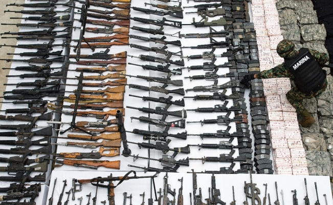 Arms trafficking on the rise in Mexico's northern border