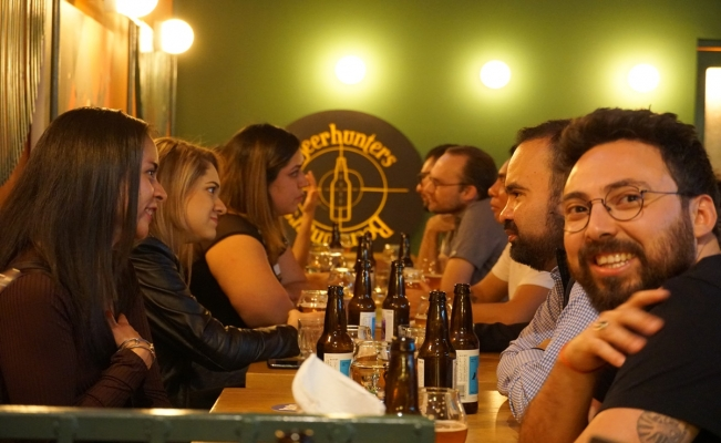 Beerhunter,  speed dating, cervecería Cru Cru