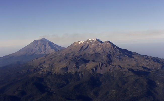 The five tallest volcanoes in Mexico