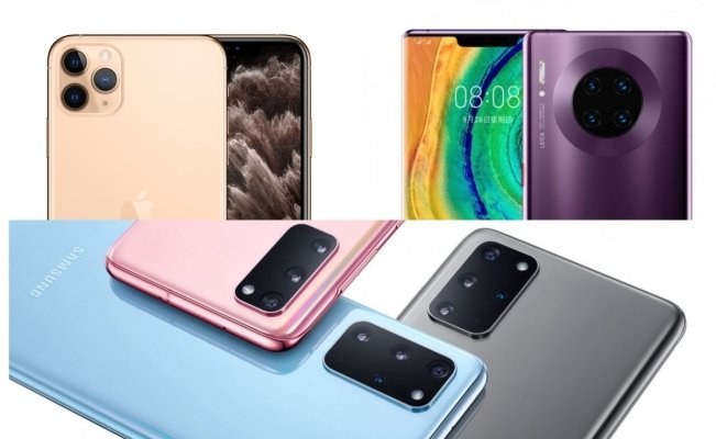 Samsung S20 Ultra iPhone 11 Pro Max Huawei Mate 30 Pro