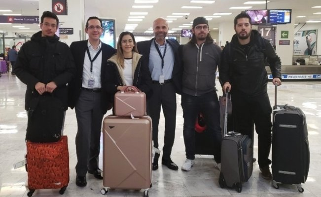 COVID-19: 10 Mexicans return home from Wuhan after quarantine in France