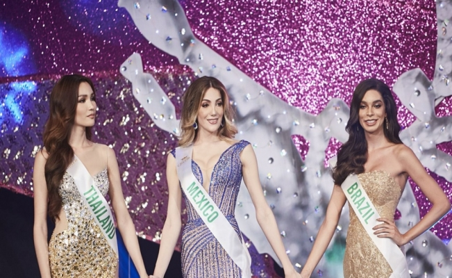Mexican beauty queen crowned in world's biggest transgender pageant
