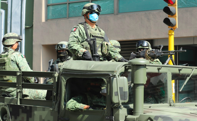 Mexico's military will carry out public security tasks